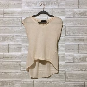 Tops - Cream blouse